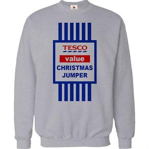 Tesco value funny Christmas jumper