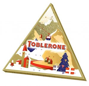 Toblerone advent calendar