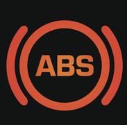 Anti-lock braking system (ABS) warning light