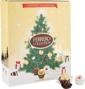 Ferrero Rocher advent calendar