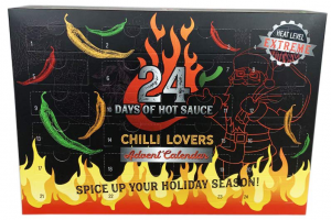 Hot Sauce advent calendar