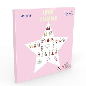 Mouttup jewellery advent calendar