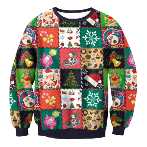 Stitched Christmas jumper