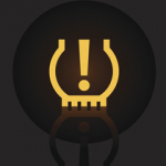 tyre pressure monitoring system light