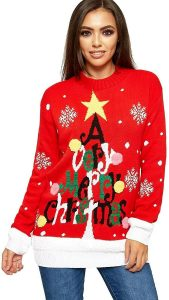 A very merry Christmas tree jumper
