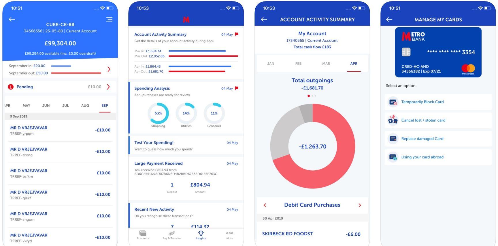Metro bank mobile banking app