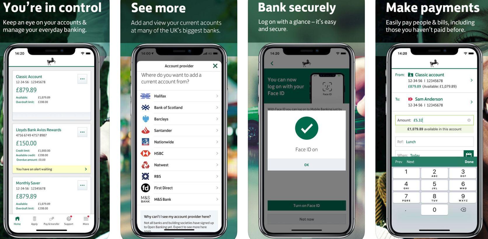 Lloyds banking app