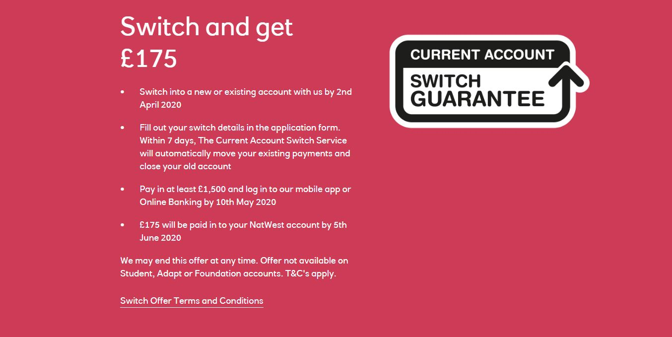 Natwest Bank Review Get A 175 Switching Bonus Bobatoo