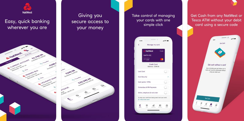 NatWest online banking app