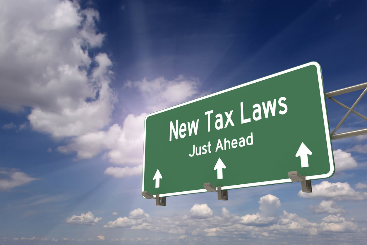 New tax laws just ahead