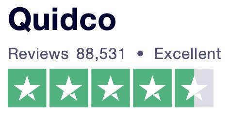 Quidco Trustpilot rating