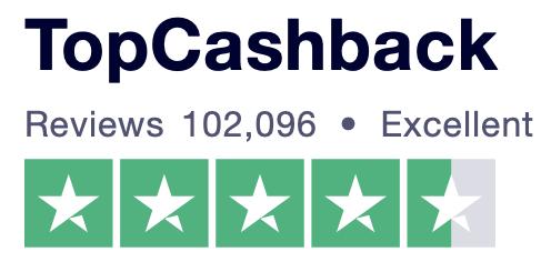TopCashback Trustpilot review