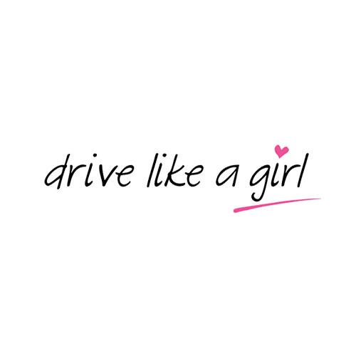 drive like a girl logo