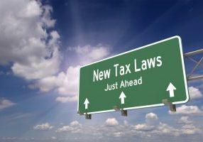 New tax laws just ahead