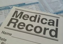 medical record sickness illness