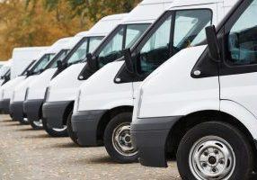 row of vans